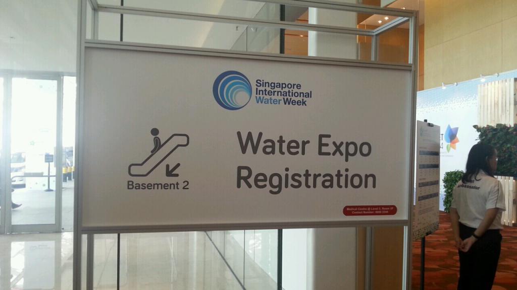 シンガポール国際Water Week 2014