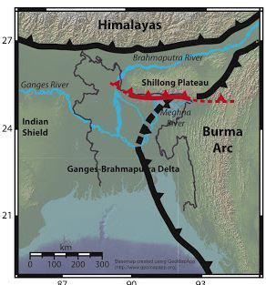 バングラディッシュの地震