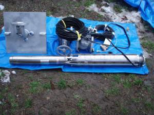 井戸水とポンプ