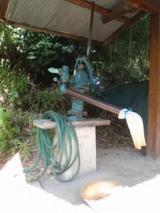 掘井戸と水みち