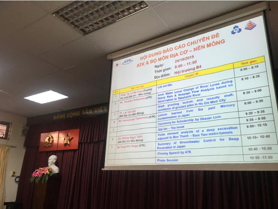 Technical Workshop with Ho Chi Minh City University of Technology