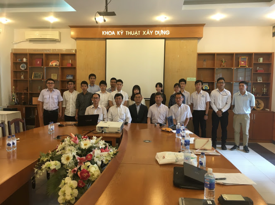 Technical Workshop with Ho Chi Minh University of Technology and National Institute of Technology, Akashi College